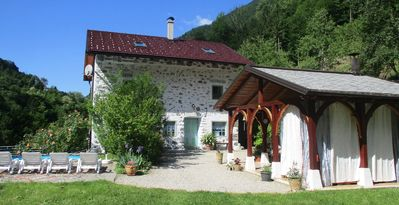 Photo for Old house,  music pavillion, swimming pool, SPA, wine cellar for 8-10 persons .