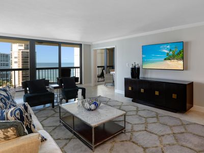 Photo for Esplanade Park Shore, Naples. Oceanfront two bedroom luxury condo for rent.