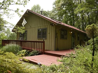 Fox Trot Cabin located 1 mile off of Blue Ridge Parkway mile marker 174