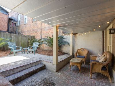 Photo for 2 Living Spaces, Courtyard, Great Location, Pet Friendly