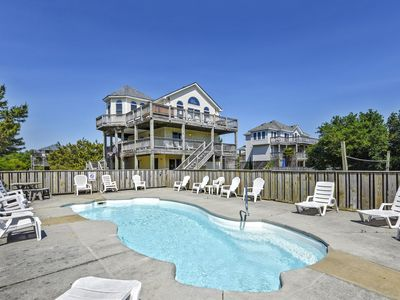 Photo for Oceanside: Private Pool. Hot Tub, Pets Ok. HUGE Gameroom with pool table! Sat.-Sat.