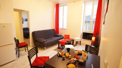 Photo for 1 bedroom apartment in the heart of Beaune discover the great wines of the region