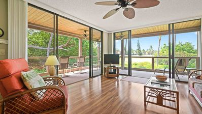Photo for Spacious End Unit on the Golf Course & Private Lanai