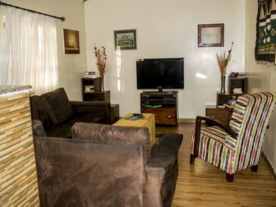 Photo for A 2 bed-roomed guest house in Nairobi's most serene, up market estate