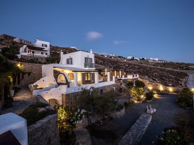 Photo for Endless Aegean Sea's view, real privacy and spaceous outdoor living.