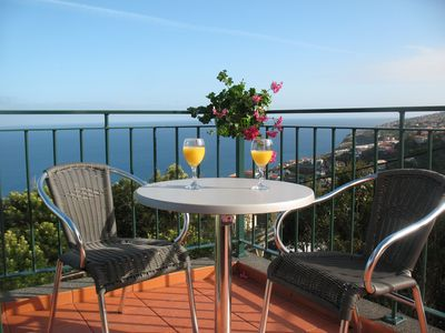 Photo for Holiday Apartment- Excellent sea and mountain view with large terrace