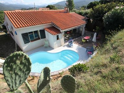 Photo for Country house with pool, 3 bedrooms (sleeps 6)