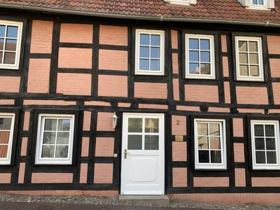 Photo for UsedomTor 1720 - 300 years old half-timbered house -Ferienwohnung for two persons