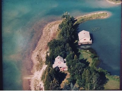Photo for Private Peninsula in Downtown Hessel, Les Cheneaux Islands