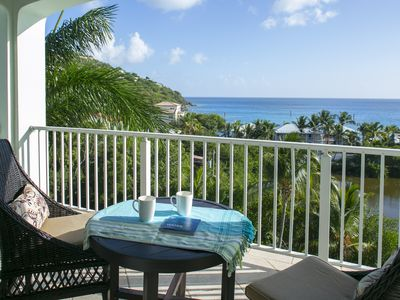 Photo for Penthouse/Palm Terrace Luxury 3BR  NO DAMAGE AND READY NOW! -WALK TO BEACH/TOWN