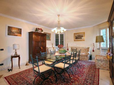 Photo for Private villa on the hills on the border between Lucca and Pisa