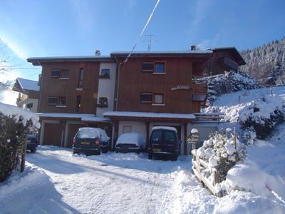 Photo for MORZINE CHALET APARTMENT 4/5 PEOPLE IN CENTRAL STATION ... ...