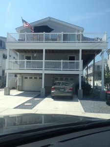 Photo for Beautiful Sea Isle City property with bay view