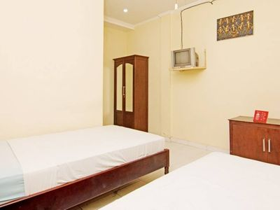 Photo for 2 Bedroom Private Room in A Guest House in Trend Poppies Lane Kuta, Near Beach