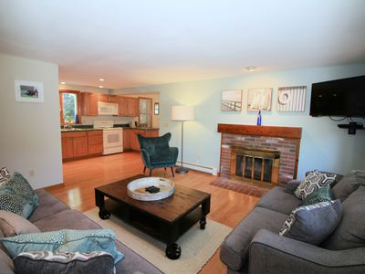 Photo for Oceanside 4B/3BA Home--A/C, Pet-Friendly and Screened Porch!