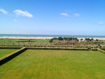 Photo for Deauville magnificent seafront 80M2