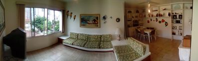 Photo for Apartment Guarujá / Enseada - 3 Bedrooms 100m² with 2 parking spaces