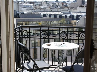 Photo for Charming Studio with balcony in the heart of Paris.