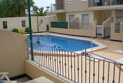 Photo for 2 Bedroom, Ground Floor, Air-conditioned apt overlooking the pool