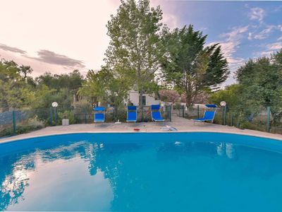 Photo for Idyllic Villa Near Ostuni with Wi-Fi, Terrace & Pool; Parking Available, Pets Allowed