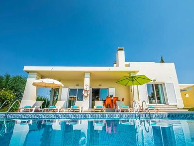 Photo for 3 bedroom Villa, sleeps 6 in Patroves with Pool, Air Con and WiFi