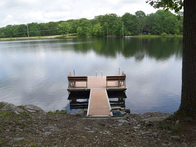 Photo for Large Lakefront, PRIVATE POOL, Free boats, dock SPECIAL DISCOUNT!