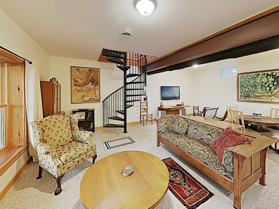 Photo for New Listing! Sparkling Charmer w/ Deck & Fireplace - Steps to Waterfront