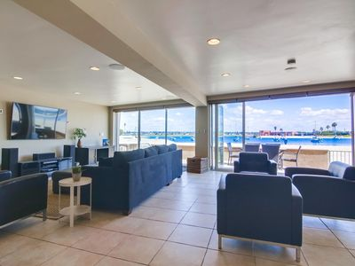 55' Water Front * Exclusive Ground Level Patio * AC