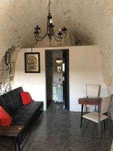 Photo for Apartment in stone house 15 minutes from the sea