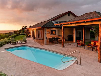 private and tranquil with incredible views of the Kona Coast.