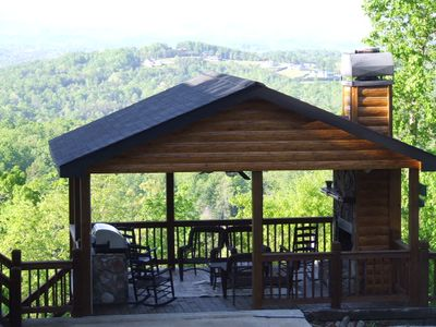 Photo for YOU WILL BE ASTOUNDED BY THE MOUNTAIN VIEW FROM LOOKOUT LODGE