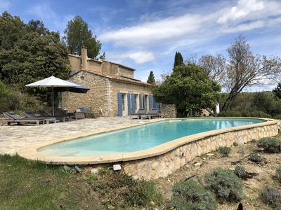 Photo for House with private pool near Gordes with  stunning views of  the Luberon
