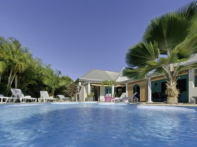 Photo for The Blue Latanier, charming villa