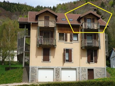 Photo for Nice attic apartment 2 to 6 people, La Bresse, APRIL / MAY: 240 € / week