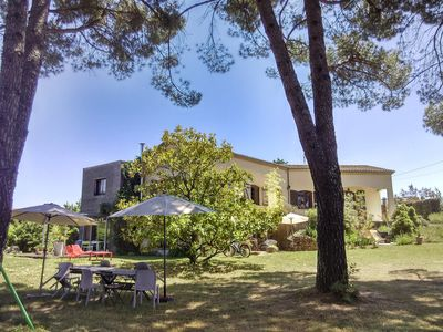 Photo for In the heart of southern Ardèche, large family property