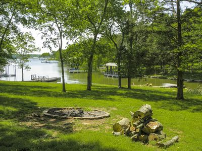 Photo for Upscale 3BR on Old Hickory Lake w/ Private Dock & Hot Tub, Close to Nashville