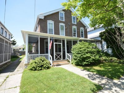 Photo for Newly renovated historic home 3 blocks from the beach and heart of town!