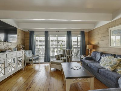 Photo for Designer Townhome Just Steps From the Beach