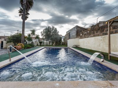 Photo for HOUSE WITH POOL Maria de la Salut 10 MIN FROM THE BEACH
