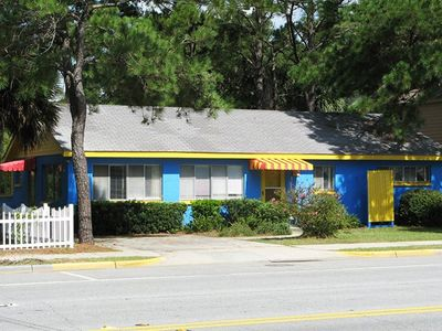 Photo for Classic Tybee Cottage - One Block To The Beach - Small Dog Friendly