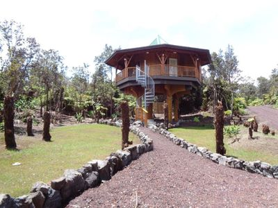 Photo for Big Island Bamboo Treehouse