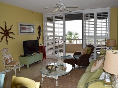 Photo for Beautiful Two-Bedroom Gulf-Front Condo at The Beach Club! Book & Make Memories!