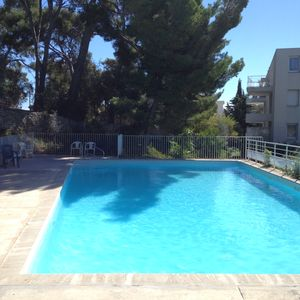Photo for Appart T2 av Swimming pool and terrace ds residence of standing in 5min of the beach