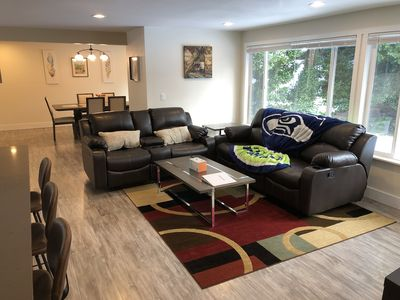 Photo for Modern & Remodeled 3bd/2ba duplex unit in Bothell - walk to UW Bothell, Downtown