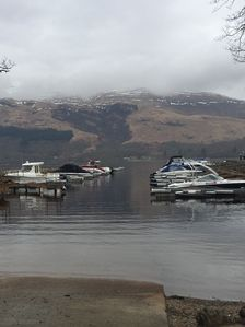 Photo for BWaterfront location on the banks of Loch Lomond. Beautiful views of Ben Lomond.