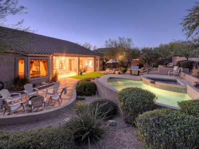 Photo for Exceptional One Story NE Mesa Home on Large Lot; Option to Heat Private Pool/Spa