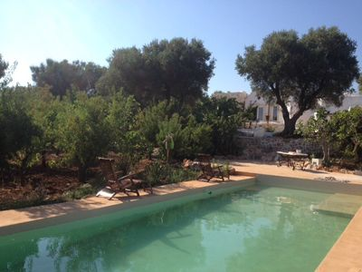 Photo for Charming Trulli near Ostuni with pool