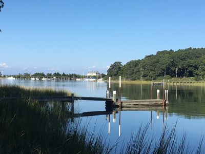 Photo for Private Waterfront  East Hampton Home