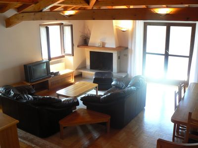 Photo for Directly on the lake - Elegant attic apartment with private jetty