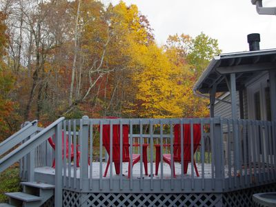 Photo for Mountain Woods Getaway - A secluded 10 acre retreat only minutes from town.